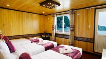 Deluxe Triple Private Balcony - 3 single beds