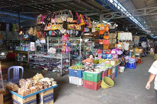 Shopping areas in Cambodia