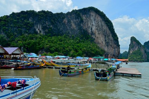 Ko Panyi, the most beautiful floating village in Thailand